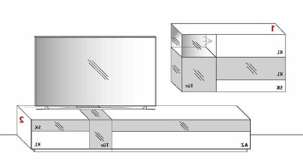Wöstmann Wohnzimmer NW770 Kombinationen