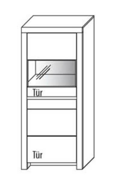 Wöstmann S-Kultur Leo Vitrinen