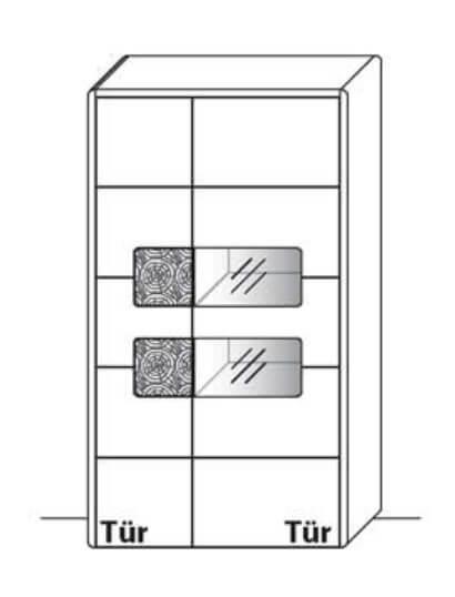 Wöstmann Wohnzimmer Solento Zeilenschränke