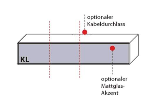 Wöstmann Wohnzimmer Sineo Aufrecht-Elemente